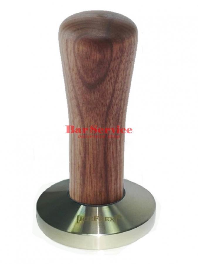 Темпер JoeFrex D58 Classic Short, орех, плоский сталь в Курске